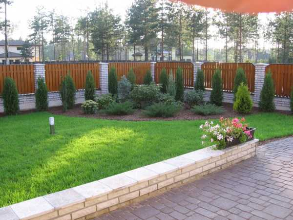 садовый дизайн для частных домов 6