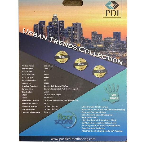PDI Flooring, Urban Trend Collection, SPC Flooring in East Village | VFO Flooring