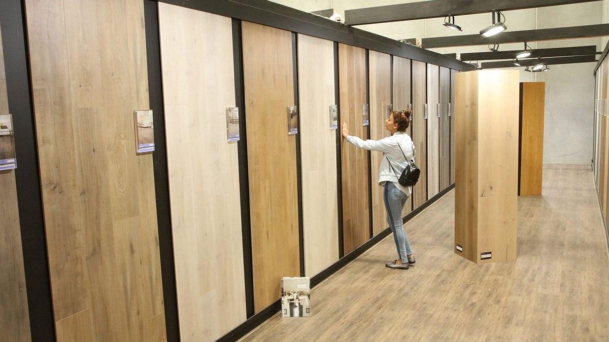 Wood Tile Floor in Porter Ranch