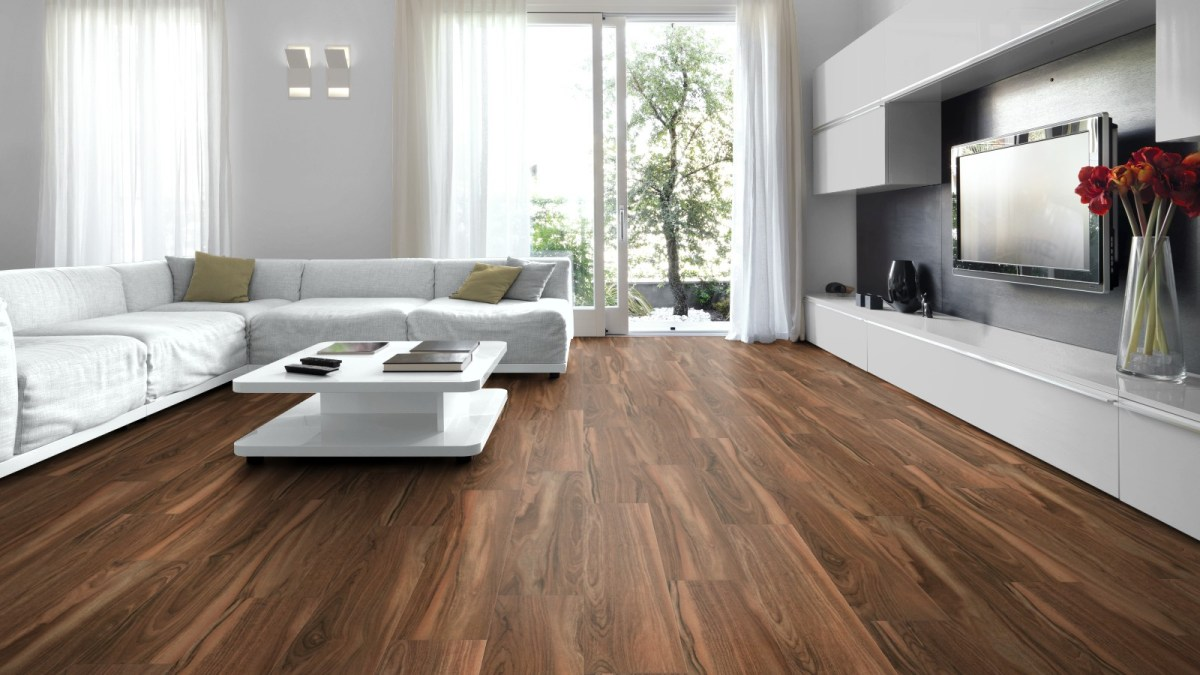 Wood Tile Floor in Sunland