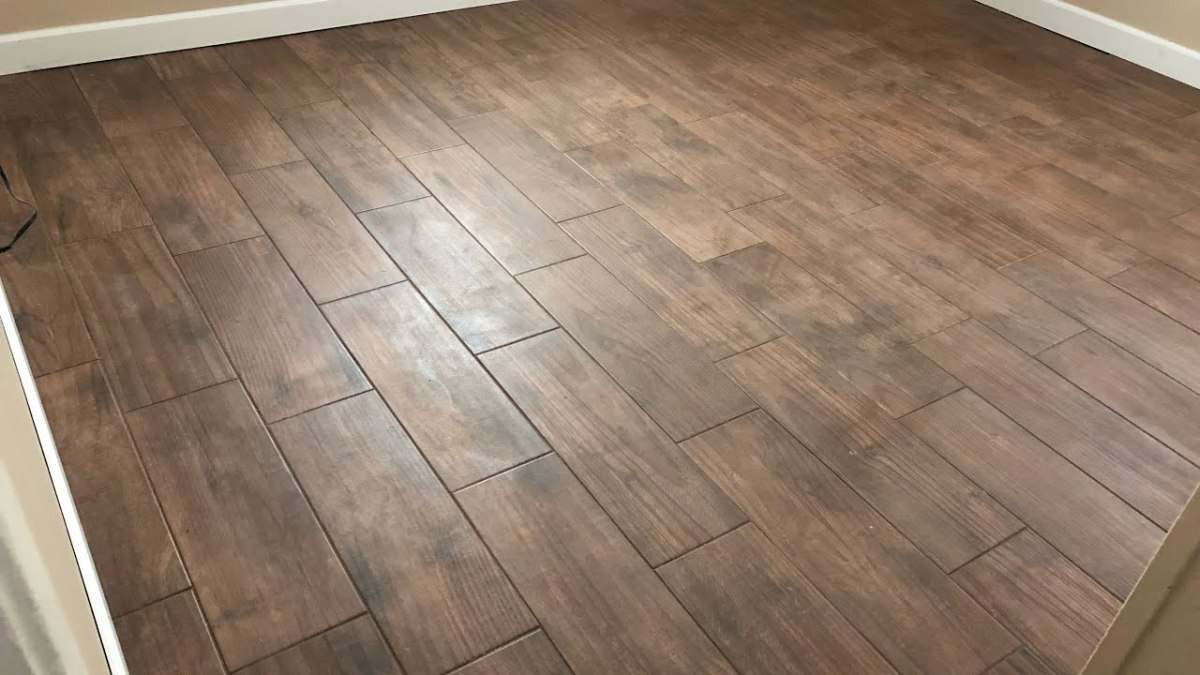 Wood Tile Floor in Sylmar