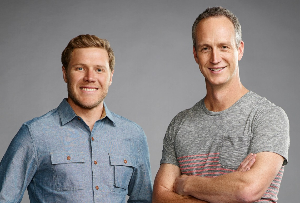 John Weisbarth And Zack Giffin Of Tiny House Nation Home Front