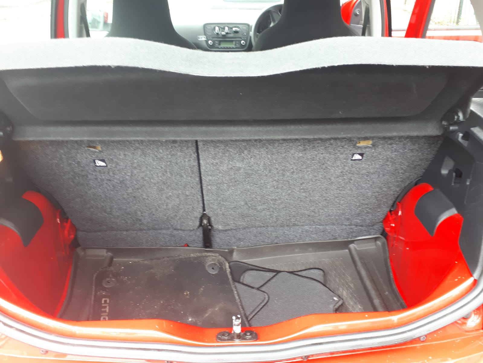 2015 Skoda for sale - boot space