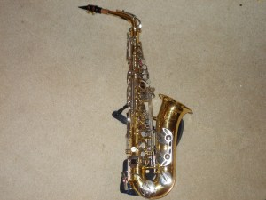 King Empire Alto Sax