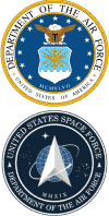 Airforce and Space Force Logos