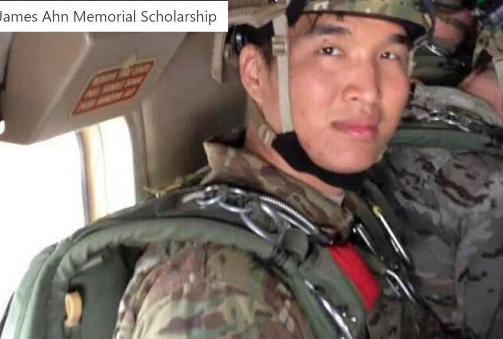 CPT James Ahn Memorial Scholarship