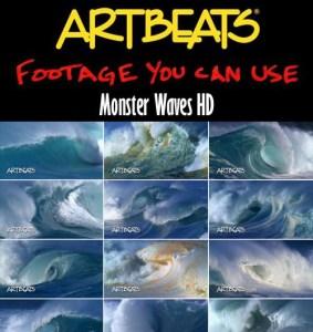 Artbeats Nature Monster Waves HD (1080p)