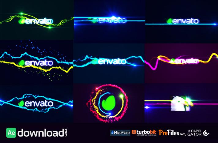 Fast Logo Streaks Pack
