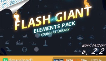 VIDEOHIVE 140 FLASH FX ELEMENTS (VIDEOHIVE PROJECT) - FREE DOWNLOAD
