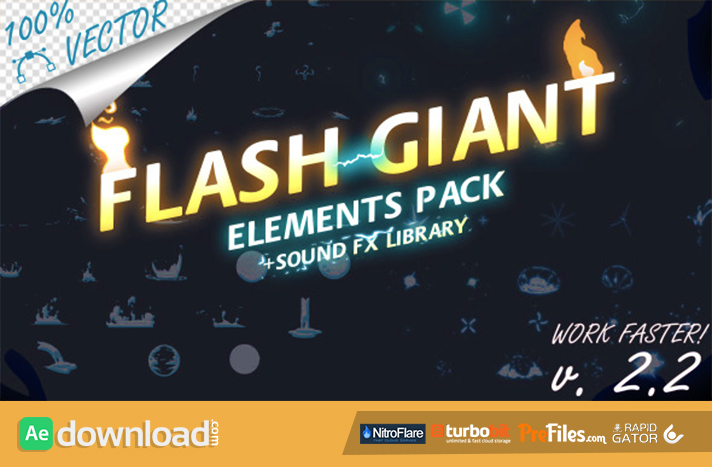 Flash Giant FX Free Download After Effects Templates