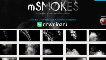 FOOTAGE FIRM: SMOKE VOL 2 FREE DOWNLOAD - Free After Effects