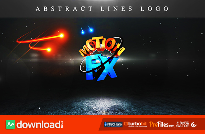 Abstract Lines Logo Free Download After Effects Templates