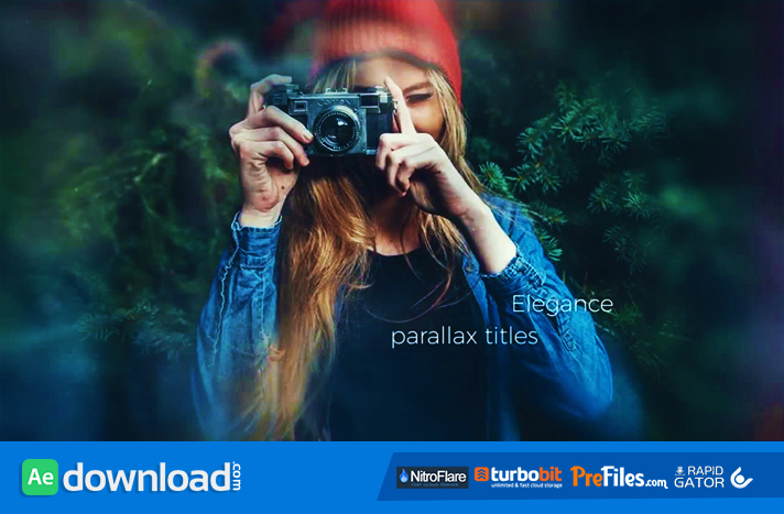 CINEMATIC PARALLAX TITLES - (MOTION ARRAY) Free Download After Effects Templates