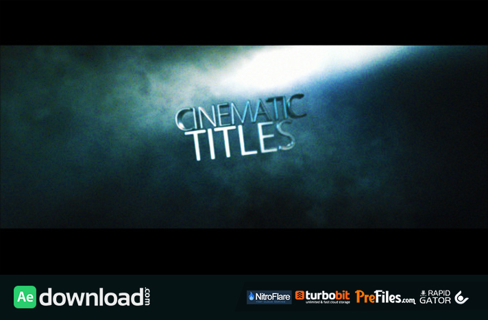 CINEMATIC TITLE VIDEOHIVE PROJECT FREE DOWNLOAD Free After - Adobe after effects title templates