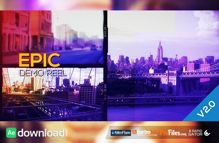 Epic Demo Reel Free Download After Effects Templates