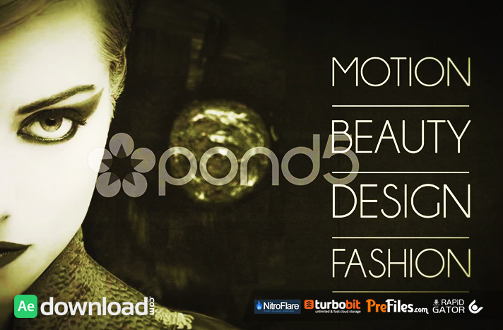 FASHION SLIDE POND5 Free Download After Effects Templates