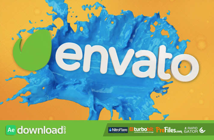 Liquid Splash Titles Free Download After Effects Templates