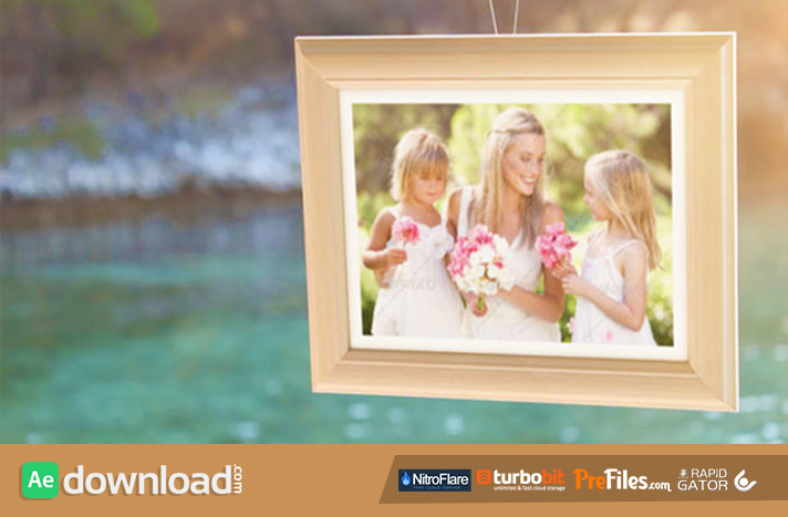 Photo Gallery at the Seaside Free Download After Effects Templates