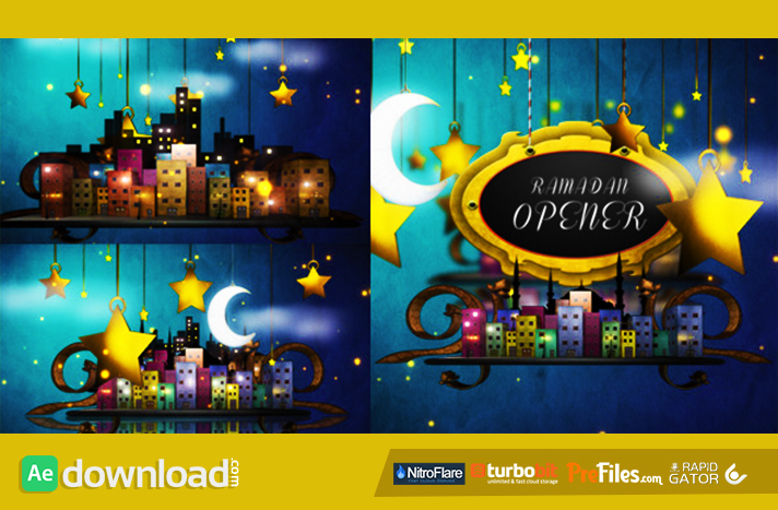 Ramadan Opener Free Download After Effects Templates