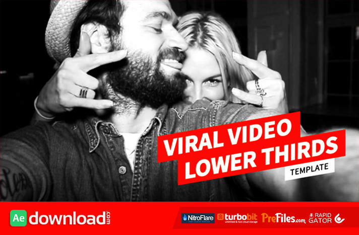 VIRAL VIDEO LOWER THIRDS TEMPLATE (VIDEOHIVE PROJECT) - FREE ...