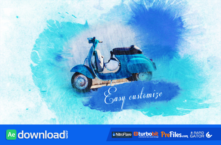 Watercolor Slideshow Free Download After Effects Templates