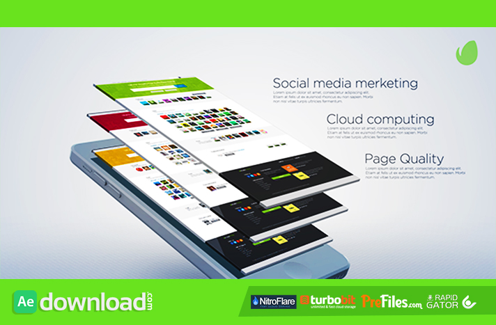 Website Presentation Free Download After Effects Templates