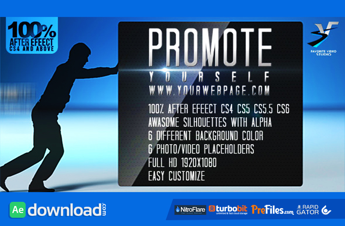 Download After Effects Promo & Advertising Templates