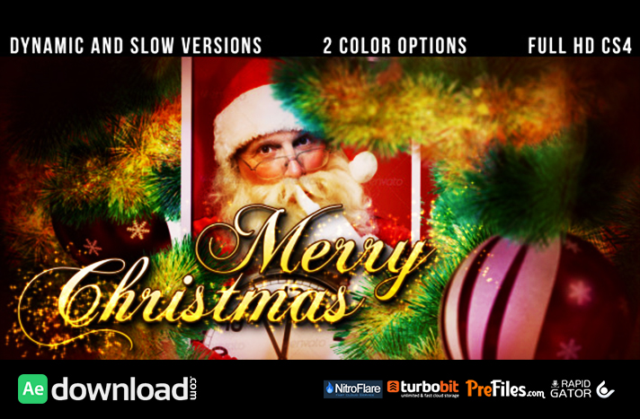 CHRISTMAS SLIDESHOW 3509654 (VIDEOHIVE PROJECT) - FREE DOWNLOAD - Free After Effects Template ...