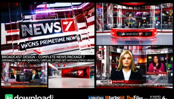 BROADCAST DESIGN NEWS PACKAGE FREE DOWNLOAD VIDEOHIVE