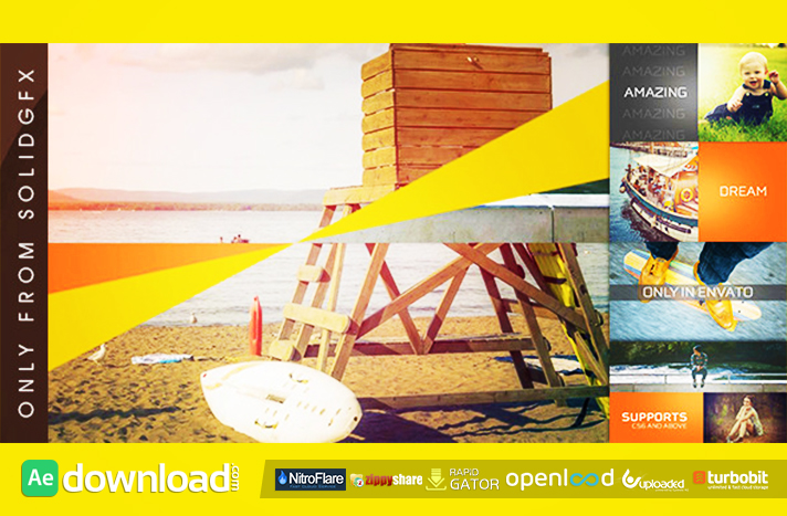 Clean Slideshow free download (videohive template)