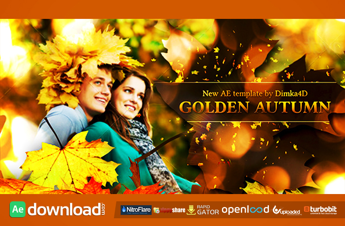 Golden Autumn free download (videohive template)