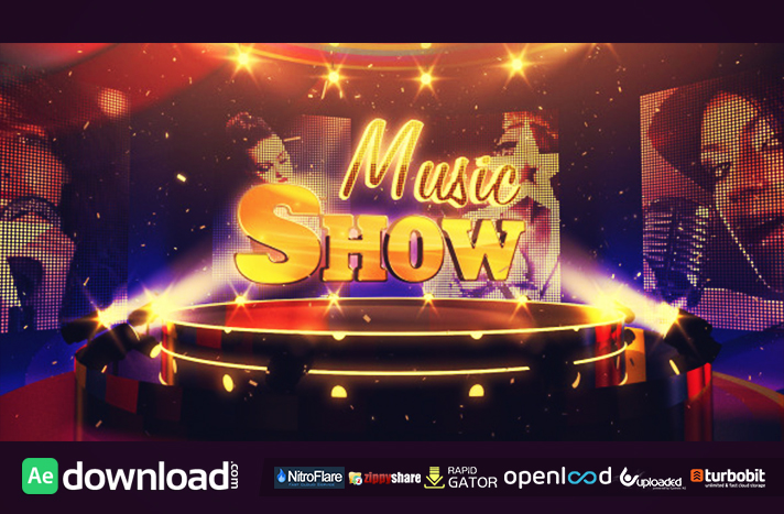 Music Show free after effects templates