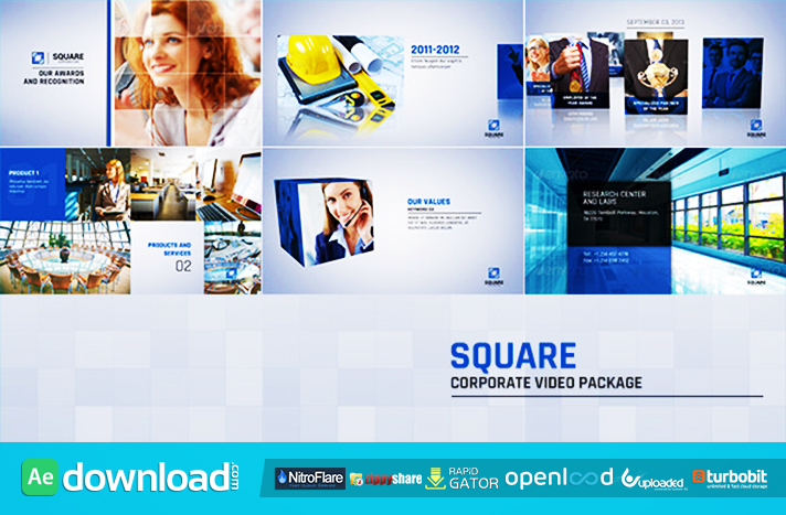Square Corporate Video Package