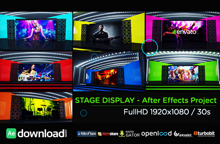 Stage Display free download (videohive template)Stage Display free download (videohive template)