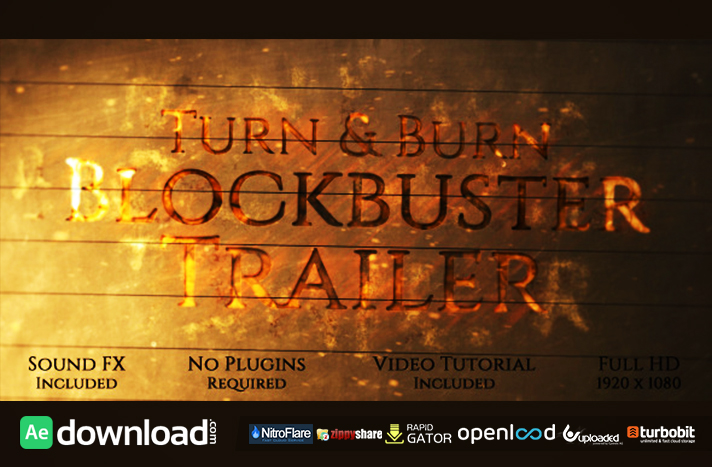 Turn and Burn Blockbuster Trailer