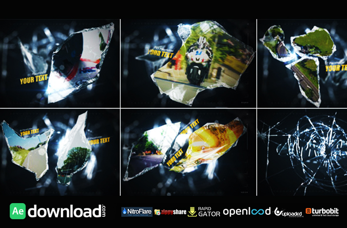 Glass Shard free download (videohive template)