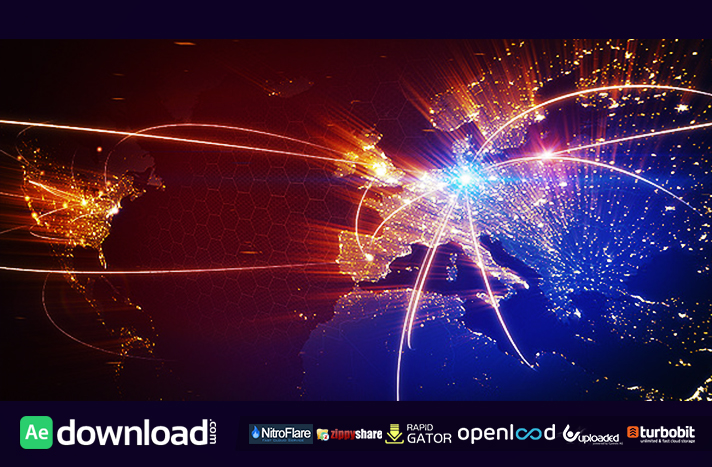 world map animation free download videohive template free after effects template videohive projects