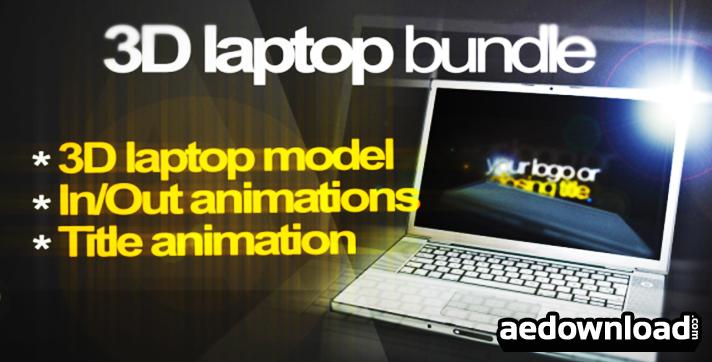 3D Laptop animation bundle