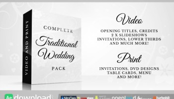 VIDEOHIVE INVITATION CARD AFTER EFFECTS TEMPLATE