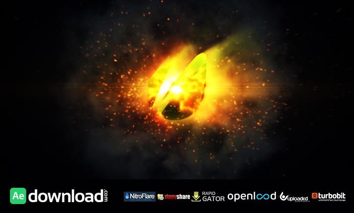 Orb Fire Logo Reveal