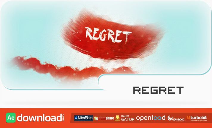 Regret - A Paint and Canvas Template