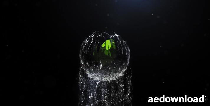 Spherical Liquid Logo Reveal