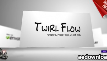 FLOW (AESCRIPT) - Free After Effects Template - Videohive