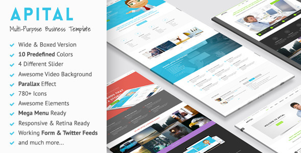 Apital v110 multi purpose business html5 template free download apital v110 multi purpose business html5 template free download free after effects template videohive projects friedricerecipe Gallery