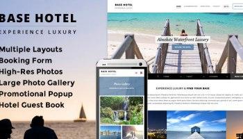 Hotec v1 12 – Responsive Hotel, Spa & Resort WP Theme Free