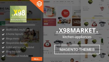 SuperTheme – Multi-purpose & Supermarket Magento Free Download