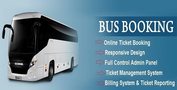 eBus v1 0 Online Bus Reservation & Ticket Booking System