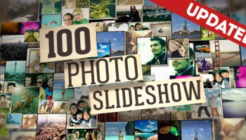 100 photo slide show after effects project videohive free