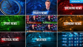 NEWS IDENT PACK - PROJECT FOR AFTER EFFECTS (VIDEOHIVE) - Free After