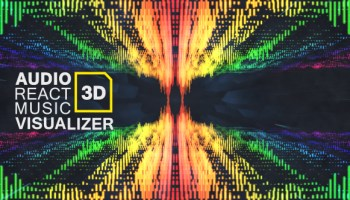 VIDEOHIVE CLEAN AUDIO SPECTRUM MUSIC VISUALIZER FREE DOWNLOAD - Free